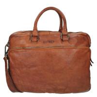 DSTRCT Pearl Street Business Laptoptas 15.6' Cognac 26120
