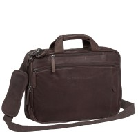 "Chesterfield Laptoptas Sherlock 16"" Brown"