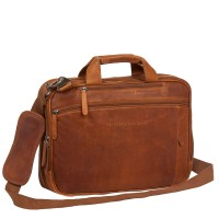 "Chesterfield Laptoptas Sherlock 16"" Cognac"
