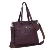 Chesterfield Cleo Shopper Large Dark Brown