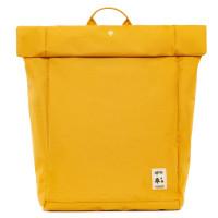"""Lefrik Eco Roll Backpack 15"""" Mustard"""