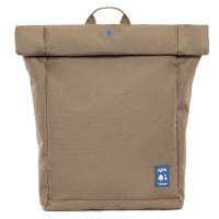 """Lefrik Eco Roll Backpack 15"""" Tobacco"""