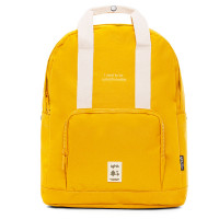 "Lefrik Capsule Backpack Laptop 14"" Mustard"