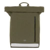 """Lefrik Eco Roll Backpack 15"""" Reflective Olive"""