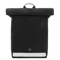 """Lefrik Eco Roll Backpack 15"""" Reflective Black"""
