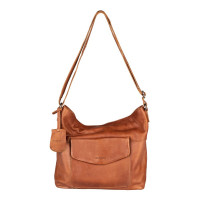 Burkely Just Jackie Crossover Hobo Cognac
