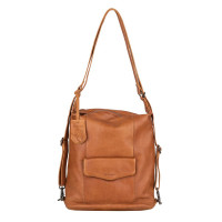 Burkely Just Jackie Backpack Hobo Cognac