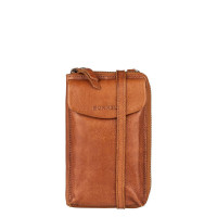 Burkely Just Jackie Phone Wallet Crossbody Bag Cognac