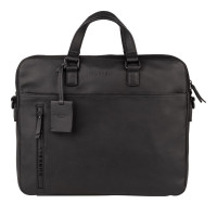 "Burkely Rain Riley Laptopbag 15.6"" Black"