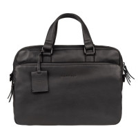 "Burkely Rain Riley Laptopbag 14"" Black"