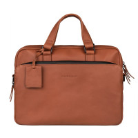 "Burkely Rain Riley Laptopbag 14"" Cognac"