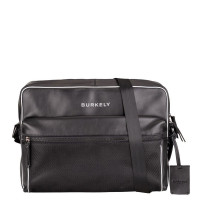 "Burkely Lucent Lane Messenger Bag 14"" Black"