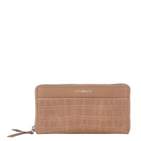 Burkely Croco Caia Wallet Large Taupe