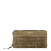 Burkely Croco Caia Wallet Large Green