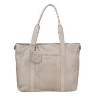 "Burkely Just Jackie Workbag 14"" Light Grey"