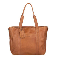 "Burkely Just Jackie Workbag 14"" Cognac"