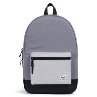 Herschel Settlement Rugzak Mid Grey Crosshatch/Black/Light Grey Crosshatch