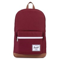 Herschel Pop Quiz Rugzak Windsor Wine/ Tan Synthetic Leather