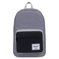 Herschel Pop Quiz Rugzak Mid Grey Crosshatch/Black