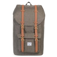 Herschel Little America Rugzak Canteen Crosshatch/Tan Synthetic Leather