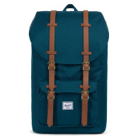 Herschel Little America Rugzak Deep Teal/Tan Synthetic Leather