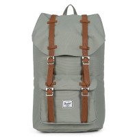 Herschel Little America Rugzak Shadow/Tan Synthetic Leather