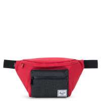 Herschel Seventeen Heuptas Barbados Cherry Crosshatch/Black Crosshatch