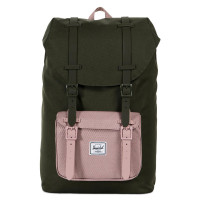 Herschel Little America Mid Volume Rugzak Forest Night/Ash Rose