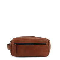 Still Nordic Clean Toiletry Bag Cognac