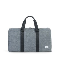 Herschel Ravine Reistas Raven Crosshatch/Black Synthetic Leather