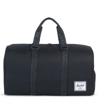 Herschel Novel Reistas Black/Black Synthetic Leather