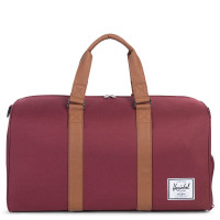 Herschel Novel Reistas Windsor Wine/Tan Synthetic Leather