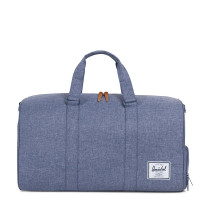 Herschel Novel Reistas Dark Chambray Crosshatch