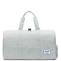 Herschel Novel Reistas Light Grey Crosshatch