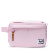 Herschel Chapter Toilettas Pink Lady Crosshatch