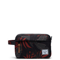 Herschel Chapter Toilettas Dark Olive Palm