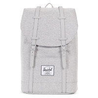 Herschel Retreat Rugzak Light Grey Crosshatch