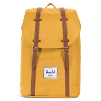 Herschel Retreat Rugzak Arrowwood/Tan Synthetic Leather