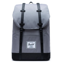 Herschel Retreat Rugzak Grey Black
