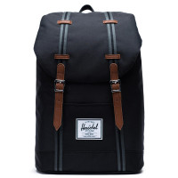 Herschel Retreat Rugzak Black Black Tan