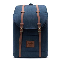 Herschel Retreat Rugzak Indigo Denim Crosshatch