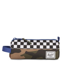 Herschel Settlement Case Etui Deep Ultramarine/Checker/Woodland Camo