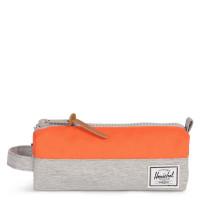Herschel Settlement Case Etui Light Grey Crosshatch/Vermillion Orange