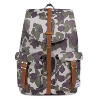 Herschel Dawson Rugzak Frog Camo/Tan Synthetic Leather