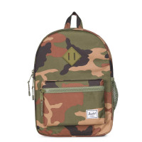 Herschel Heritage Youth Rugzak Woodland Camo/ Army Rubber