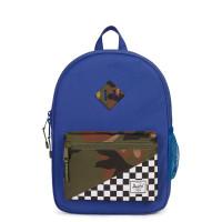 Herschel Heritage Youth Rugzak Deep Ultramarine/Checker/Woodland Camo