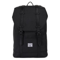 Herschel Retreat Mid-Volume Rugzak Black/Black