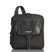 Tumi Alpha Bravo Arnold Zip Flap Bag Black