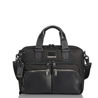 Tumi Alpha Bravo Albany Slim Computer Brief Black