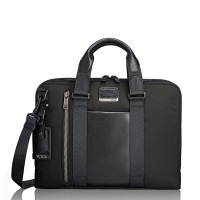 Tumi Alpha Bravo Aviano Slim Brief Black